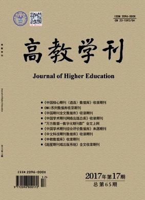 高教学刊杂志发表论文