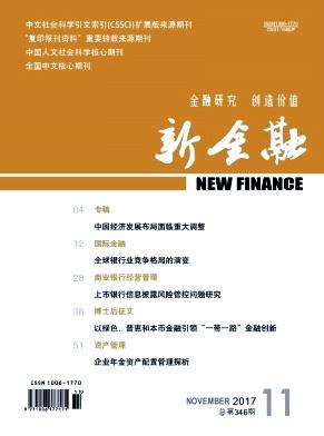 新金融杂志论文发表